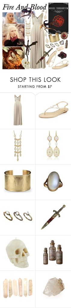"""Fire and Blood"" by aquabatgirl ❤ liked on Polyvore featuring Biba, René Caovilla, Stella & Dot, White House Black Market, Blue Nile, Pieces, KING and Johnny Loves Rosie"