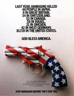 """""""Fermate le pistole prima che fermino voi."""""""