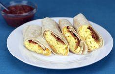 Breakfast Tortilla Wrap Recipe at MrBreakfast.com