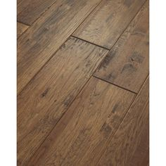 Shaw 8-in W Prefinished Hickory Engineered Hardwood Flooring (Castel Hickory)