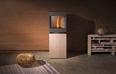 Red Dot Design Award: Stuv P-1 pellet stove - wood, gaz burner and #fireplace