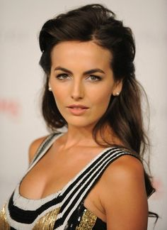 camille belle- love the hair and makeup❤