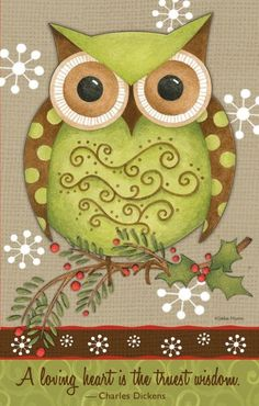 A Loving Heart is the Truest Wisdom! Owl Wallpaper, Owl Pictures, Christmas Owls, Owl Always Love You, Beautiful Owl, Owl Crafts, Wise Owl, Owl Art, Painted Rocks