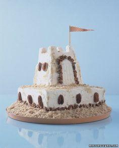 Vanilla Pecan Sand Castle Recipe