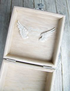 Oak treasury box vintage world map jewelry wooden box for him around girls treasure box shabby chic room decor jewelry storage box with cotton lace angel wings inside vintage box gumiabroncs Choice Image