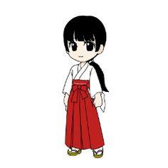 お巫女さんって古代日本のシャーマン(祈祷師)から来てるって言われてるみたいですね。確かに卑弥呼とかも女性でしたしイタコさんとか女性のシャーマンって日本では一般的ですが世界的にはシャーマンは男性が多くて女性は珍しいそうですよ?(Shinto_tan)