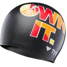 283cd91b6a7e Tyr Unisex Own It Silicone Swim Cap Bonnets De Bain