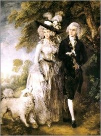 Thomas Gainsborough - Mr. und Mrs. William Hallett