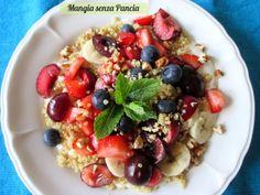 Yogurt con quinoa e frutta, Mangia senza Pancia