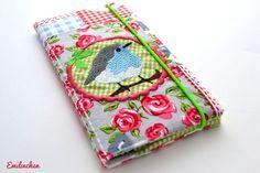 Taschenkalender - Taschenkalender 2014 groß Vögelchen - ein Designerstück von Anja-Emilinchen bei DaWanda