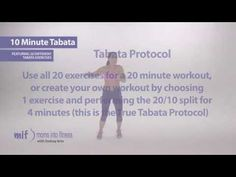 10 Minute Tabata - featuring 20 different exercises - YouTube