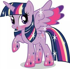 Rainbow pony twilight sparkle