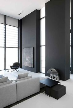 Neutral and grey modern interior design | Greys | Pinterest ...