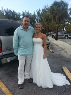 Jessica and Daddy before Wedding