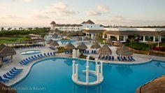 Pools at Grand Riviera Princess,  Mayan Riviera, Mexico