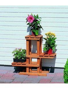 PROMADINO Blumenpodest (3 Ebenen)
