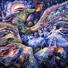 Dragon Dancers ~ Josephine Wall