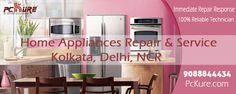 Good Service Is Good Business PcKure.com - Home Appliances Repair & Service 9088844434