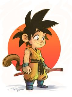 GOKU by 3nrique.deviantart.com on @deviantART