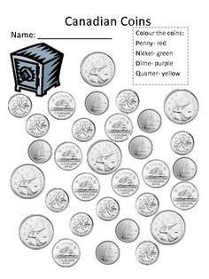 Canadian Money Unit for Grade 1 (Ontario Curriculum