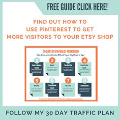 3 Ways to Use Pinterest to Promote Your Etsy Shop -- Looking to get more eyes on your Etsy store? Want more traffic? Click play to watch the video and find out how...