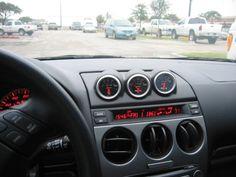 "2003 2007 Mazda 6 Triple 2 1 16"" Dash Vent Mount Gauge Pod Holder Trim | eBay"
