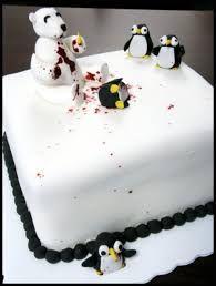 Resultado de imagem para polar bear cake