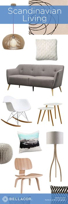 Scandinavian Inspired Lighting, Furniture and Home Decor. Bellacor price match guarantee, plus free shipping on all orders $75+. http://www.bellacor.com/scandinavian-living.htm?partid=social_pinterestad_scandinavianliving_collage