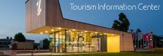 Architectural Features of Tourist and Tourism Information Center in Postojna by Studio Stratum Brick Architecture, Amazing Architecture, Architecture Details, Information Center, Tourist Information, Wooden Facade, Tourist Center, Centre, Interesting Buildings