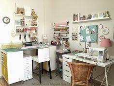sewing room and craft room hilosdeazucar.blogspot.com Habitación de costura y taller de hilosdeazucar.blogspot.com