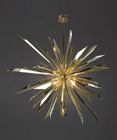 "Tony Duquette 'California Sunburst Chandelier"" - it doesn't have to be a chandelier to be a chandelier."