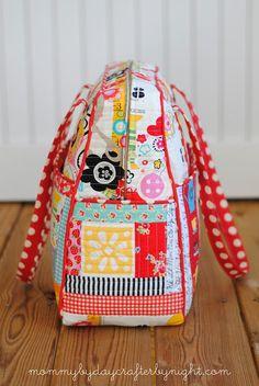 Quilted Weekender Bag #2