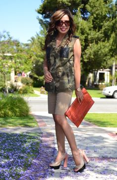 Camo can be feminine. Take a look at some other examples.