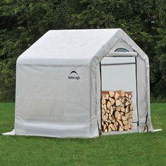 90395 Firewood Storage 5' X 3.5' X 5' (seasoning Shed)
