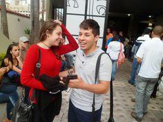 Os amigos Ananda de Oliveira e José Lucas Peixoto estão confiantes e entusiasmados para estudar Publicidade e Propaganda na Una.