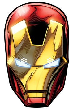 Official Iron Man Marvel The Avengers Card Party Face Masks Mask - Tony Stark