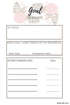 A Proven Way To Turn Your Dreams Into Reality Goals Planner, Free Planner, Printable Planner, Free Printables, Free Calendar, Goal Planning, Planner Inserts, Day Planners, Dreaming Of You