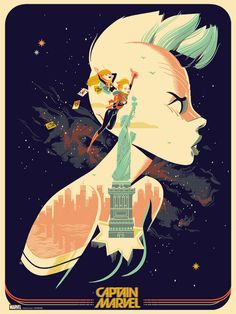 15 pósters artísticos para homenajear a Marvel - CINEMANÍA