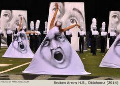 Broken Arrow High School Marching Band, Oklahoma, 2014