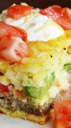California Breakfast Casserole Recipe ~ Delicious!!