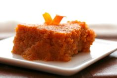 carrot pudding-try to make thick like frys with brown golden edges Fall Recipes, My Recipes, Dessert Recipes, Favorite Recipes, Desserts, Recipies, Carrot Souffle, Carrot Pudding, Veggie Delight