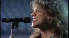 Bon Jovi - I'll Be There For You - Day 3 - Song that reminds you of a parent (Perfect timing Happy Mother's Day Bildstein) - She took me to see Bon Jovi for my first concert :) Jon Bon Jovi, 80s Music, Rock Music, Rock Songs, Bon Jovi Videos, Musica Pop, Rock Videos, Easy Listening, Types Of Music