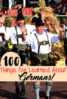100 Things I've Learned About Germans while being an expat in Germany! - California Globetrotter