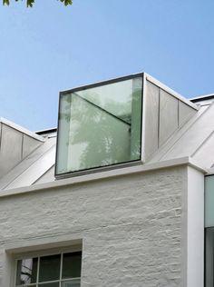Houseplants for Better Sleep Robert Dye Extended London Mews House Window Detail Internal External Architecture Extension, Detail Architecture, Architecture Résidentielle, Alcacer Do Sal, Mews House, Window Detail, Roof Extension, Dormer Windows, Dormer Roof