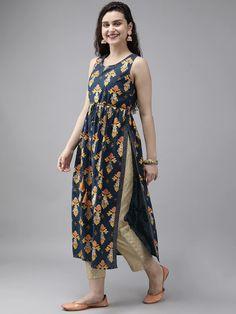 Silk Kurti Designs, Simple Kurta Designs, Kurta Designs Women, Kurti Designs Party Wear, Saree Blouse Designs, Casual Indian Fashion, Indian Fashion Dresses, Indian Designer Outfits, Indian Dresses For Women