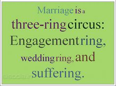 Funny :))  Get more wedding tips on this site: http://www.menstungstenweddingringsz.com/how-to-choose-your-wedding-rings/
