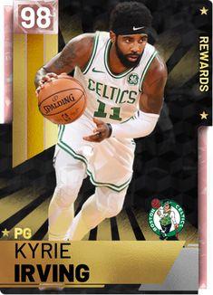 Mba Basketball, Basketball Pictures, Basketball Cards, Kyrie Irving Celtics, Custom Cards, Legends, Champion, Sport, News