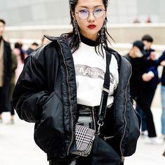 "Delux Bomba THE First season _ ""A-TRAK"" Model Zizian in A-TRAK Tshirts at Seoul Fashion Week _ALL RIGHTS RESERVED Seoul Fashion, Bomber Jacket, Seasons, Model, T Shirt, Jackets, Life, Supreme T Shirt, Down Jackets"