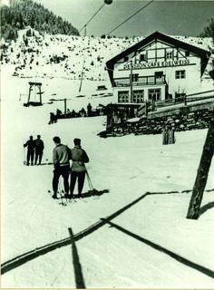 1952 Erster Skilift in Ischgl. ©Silvrettaseilbahn AG