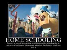 5 Reasons Why Homeschool Kids Will Survive the Zombie Apocalypse - by Dominic de Souza